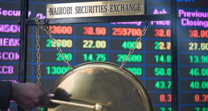 Trading at the Nairobi Securities Exchange (NSE) opened the week on a positive note as the value of shares traded closed 65.4 per cent higher at Ksh865 million(US$8.6million ), compared to Ksh523 million (US$5.2 million)traded last Friday. The day saw a total of 30.5 million shares moved, up from 18.6 million shares on Friday when the market took a weekend break. The bond market had bonds worth Ksh3 billion transacted.