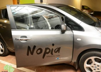 EkoRent Africa has launched Nopia Ride has launched in Kenya. It is a full electric taxi service. [Photo/Nopia]