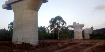 SGR progress at the Ngong site. Some workers have complained of mistreatment by the Chinese. www.exchange.co.tz