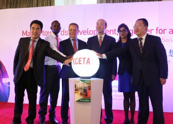 KCETA launching the first corporate social responsibility report of Chinese enterprises in Kenya, highlighting Chinese companies' efforts in boosting local economic and social development www.exchange.co.tz