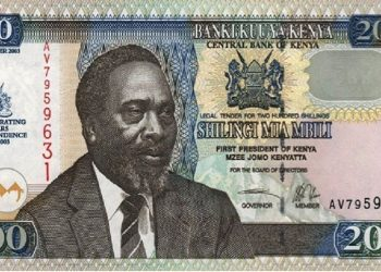 A Kshs 200 note. Kenya is headed for tough times ahead after the country's currency lost its value against the US dollar by a 0.1 per cent depreciation on Thursday www.exchange.co.tz