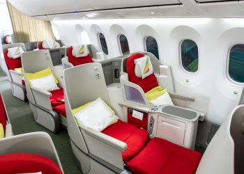 Ethiopian Airlines corporate travel programme cabin. Ethiopian Airlines is Africa's largest and most profitable airline. www.exchange.co.tz