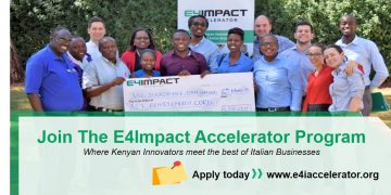 The accelerator accepts applications from innovative enterprises that are aligned with Kenya's Big Four agenda and Italian excellences in Agri-food, Fashion and design, Leather, Machinery and equipment