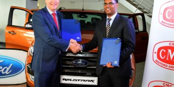 CMC Motors, the sole distributor of the Ford Ranger vehicles, and NIC Bank, have signed a partnership agreement that will see CMC- Ford customers receive up to 95 per cent financing on all Ford ranger vehicles. The deal is based on a 60-months-repayment plan, the latest in an effort to grow the uptake of commercial motor vehicles in the country.