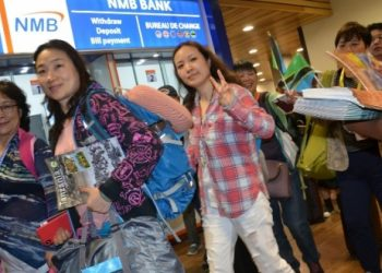 Chinese tourists arrive at Kilimanjaro Airport-The Exchange