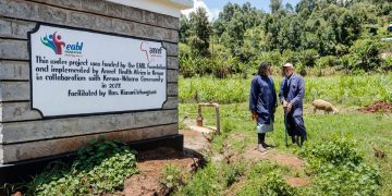 The EABL Water of Life project in Kerwa, Kiambu County. KBL's water savings are helping provide water for communities without access to clean water in Kenya www.theexchange.africa