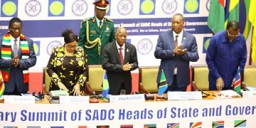 THE 39TH SADC SUMMIT OF HEADS OF STATE AND GOVERNMENT JULIUS NYERERE INTERNATIONAL CONVENTION CENTRE DAR ES SALAAM, Tanzania