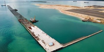 The first berth of the new Lamu Port will be opened in October.Lamu Port is Kenya's second major sea port after the Port of Mombasa. It is part of the US$24.5 billion Lamu-Port-South-Sudan-Ethiopia-Transport corridor project aimed improving trade in the region.