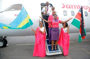 Kenya's low-cost carrier Jambojet on Monday made its first trip to Kigali International Airport as it launched scheduled flights between the Rwanda's capital and Nairobi, bringing competition to RwandAir.